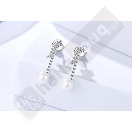 DA 101 Deeana 925 Silver Earrings 3 pairs @ 99 QAR