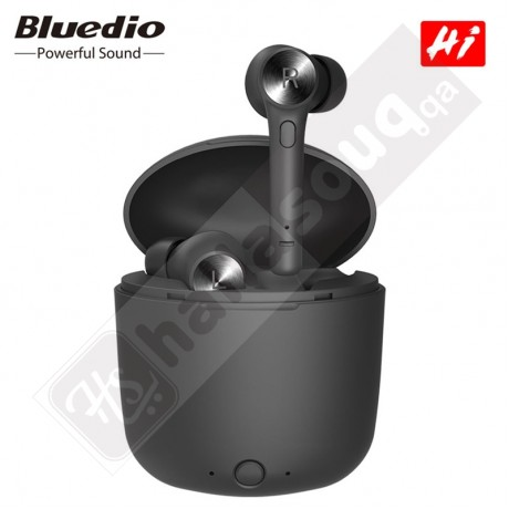 Bluedio Hi Bluetooth 5.0  Stereo Earbuds With Charging Box Built-in Microphone