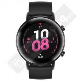 Huawei Watch GT 2 (42 mm) Smartwatch - Night Black (Black Strap Regular)