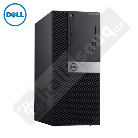 Dell Optiplex 7060 MT (7060-i5-VPN-9P6DT), Intel i5, 4GB DDR4, 1TB HDD, DOS