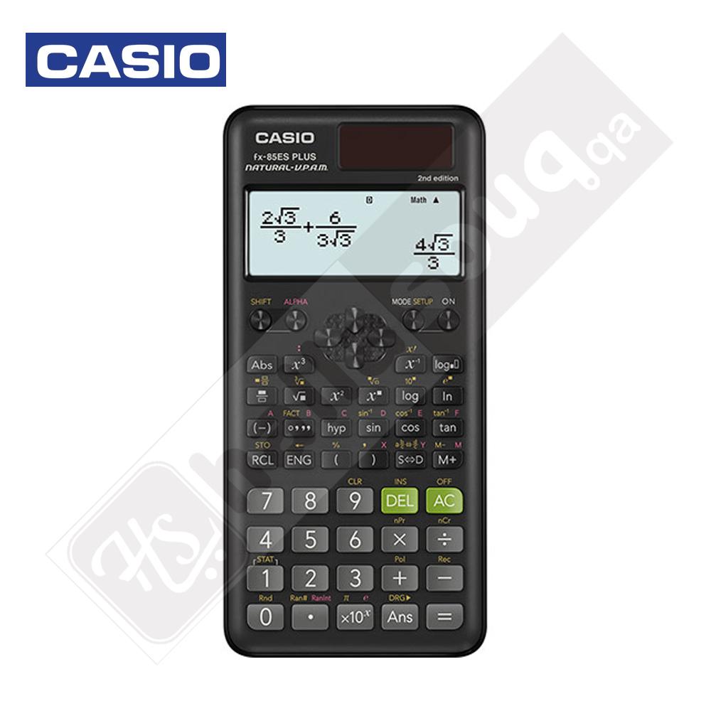 Casio FX-85ES Plus 2nd edition - Black